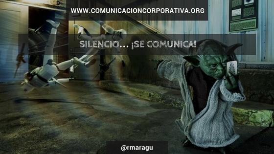 Silencio… ¡se comunica!