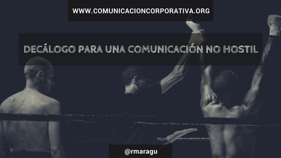Decálogo para una comunicación no hostil en las redes sociales