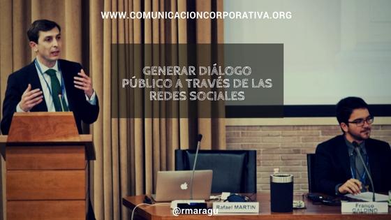 Generar diálogo público a través de las redes sociales