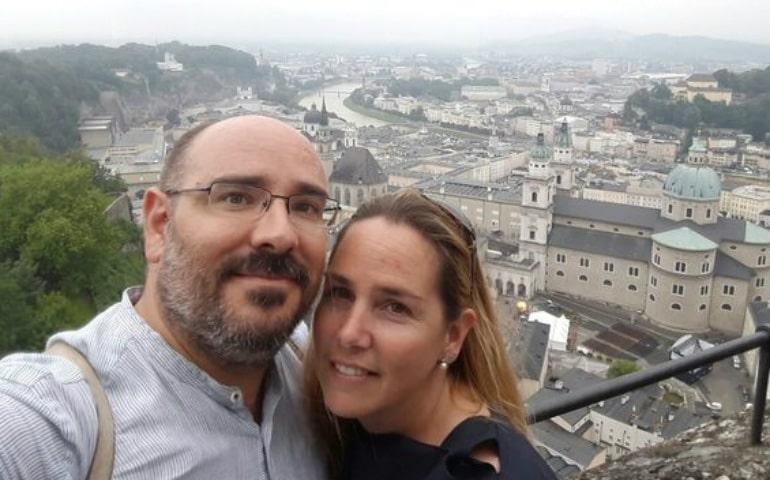Xavier Prats y Teresa Nebot